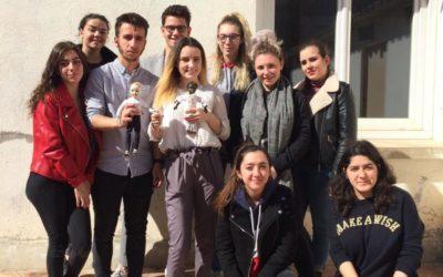 Perpignan : des marionnettes comme outils pédagogiques entre écoliers et futurs bacheliers